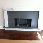 mixed stone fireplace 1